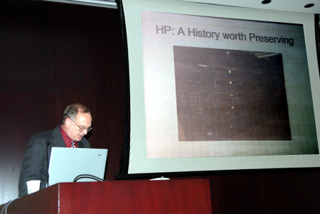 <i>Kenneth Kuhn, Presenting: HP a History Worth Preserving</i>
