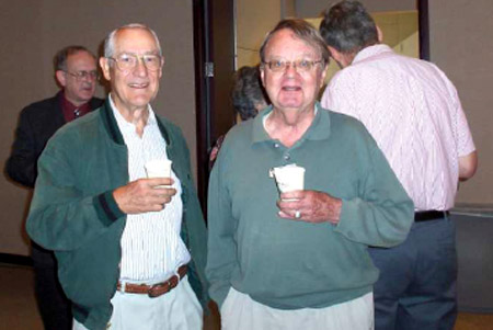 <i>In the Audience, Left to Right: Ed Truitt, Bill Terry</i>