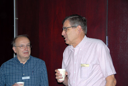 <i>In the Audience, Left to Right: Larry Nutting, John Minck</i>