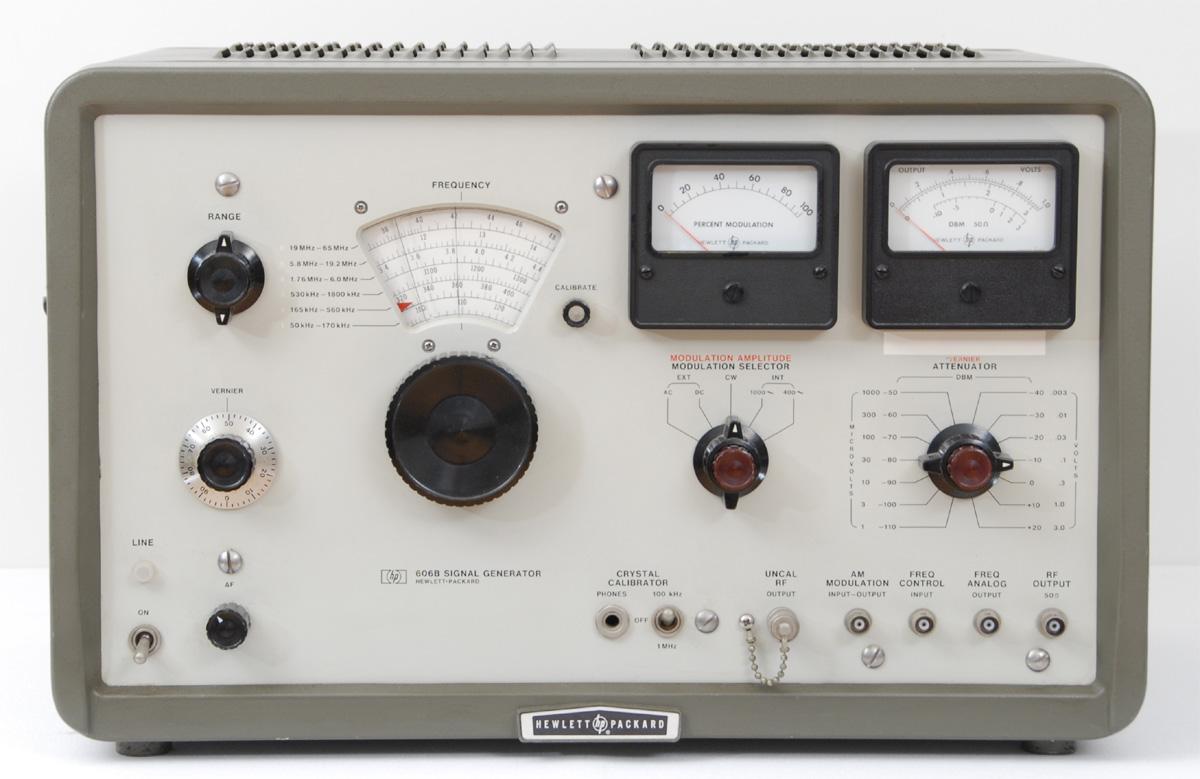 Hp Signal Generator : Hp