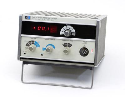 True Rms Voltmeter Measuring True Rms ac Voltages